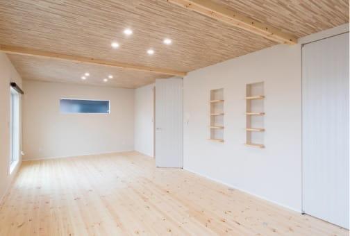 写真:無垢の床