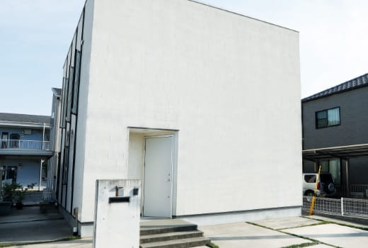 写真:casa cube外観
