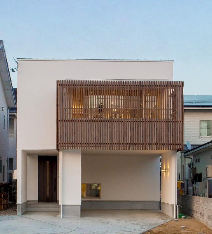 写真:灯明寺モデルハウス外観