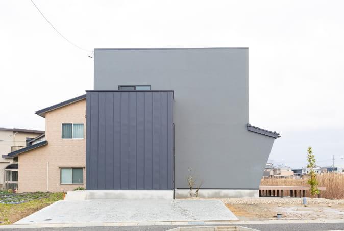 写真:上野本町モデルハウス外観