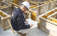 基礎立上り型枠施工後コンクリート打設前